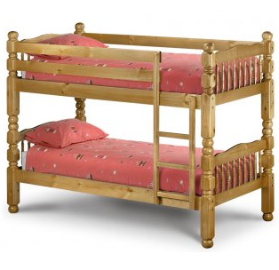 Chunky Bunk Solid Pine Bunk Bed